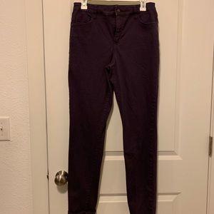 Bandolino purple pants size 6